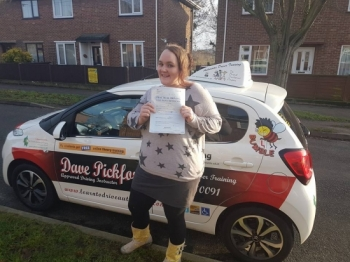 Congratulations to Hannah on Passing her Automatic Driving Test this morning at #Norwich MPTC in #TPDCBumble <br />