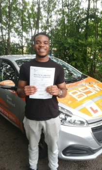 Congratulations to James who Passed his Automatic Driving Test this morning at #Colchester<br />