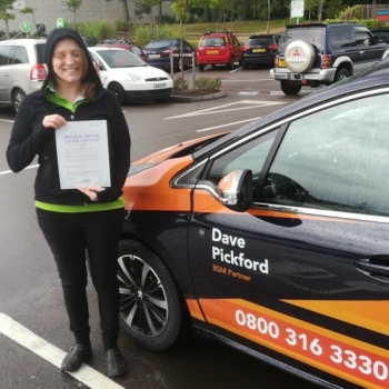 Congratulations to Charlotte who Passed her Automatic Driving Test this afternoon 👍😁<br />