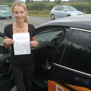 Congratulations to Fiona who Passed her Automatic Driving Test this afternoon.<br />