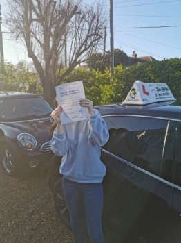 Congratulations to Maisie who Passed her Automatic Driving Test this afternoon at Colchester in #Bumble