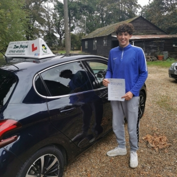 Congratulations to Marty who Pased his Automatic Driving Test this afternoon at Ipswich in #Bumble