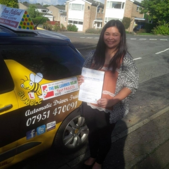 Shes walking on sunshine<br />