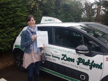 Congratulations to Alison who passed her Automatic Driving Test this afternoon at #Norwich in #Bumble #TPDC<br />