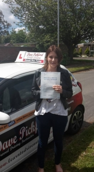 Congratulations to Amy B on passing her Automatic Driving Test this morning at #Norwich MPTC in #Bumble <br />