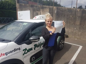 Congratulations to Carley who passed her Automatic Driving Test this morning at #Norwich Jupiter Road in #Bumble <br />