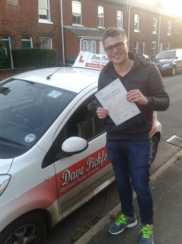 Congratulations to Charles Holland who passed his Automatic Driving Test this afternoon at Norwich MPTC following one of our 1 week Driving courses<br />