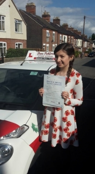 Congratulations to Charlotte who passed her Automatic Driving Test this afternoon at ‪#‎Norwich‬ MPTC in ‪#‎Bumble‬ <br />