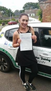 Congratulations to Christina D who Passed her Automatic Driving Test this afternoon at #Norwich in #Bumble #TPDC<br />