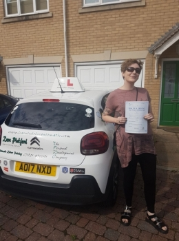 Congratulations to Coral who passed her Automatic Driving Test this morning at #Norwich in #Bumble <br />