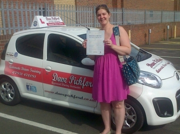 Congratulations to Diane Archer who passed her Automatic Driving Test this afternoon at Norwich MPTC Well done on a great drive as the examiner told you a very tidy reverse enjoy your freedom no how much this means to you more importantly enjoy being a mum Stay Safe