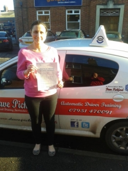 Congratulations to Gemma Pardon who passed her Automatic Driving Test this at Norwich MPTC with a near perfect drive See what you can achieve when you put your mind to it that combination of nerves excitement was spot on remember to Stay Safe<br />