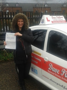 Congratulations to Joanna who passed her Automatic Driving Test at Norwich MPTC this morning<br />