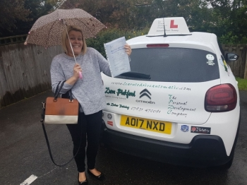 Congratulations to Kelly who passed her Automatic Driving Test this afternoon at #Norwich in #Bumble<br />