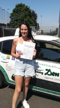 Congratulations to Laura who Passed her Automatic Driving Test this afternoon at #Norwich in #Bumble #TPDC<br />