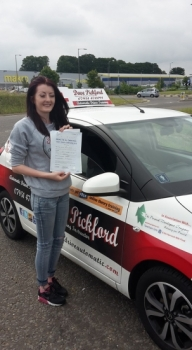 Congratulations to Louise Read who passed her Automatic Driving Test this morning at ‪#‎Norwich‬ MPTC in ‪#‎Bumble‬ <br />