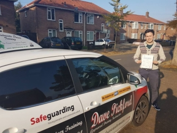 Congratulations to Luke on Passing his Automatic Driving Test this morning at #Norwich MPTC in #TPDCBumble <br />