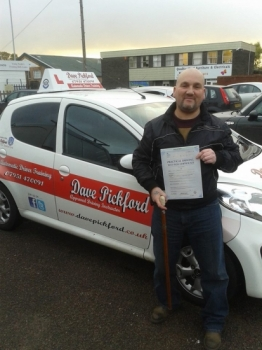 Congratulations to Marc Roberts who passed his Automatic Driving Test at Norwich MPTC Well done on a great drive I no how much this means to you and how much freedom independence it will give you<br />