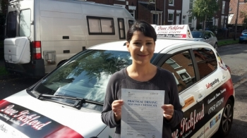 Congratulations to a very happy amp; smiley Maria who passed her Automatic Driving Test this at ‪#‎Norwich‬ MPTC in ‪#‎Bumble‬ <br />
