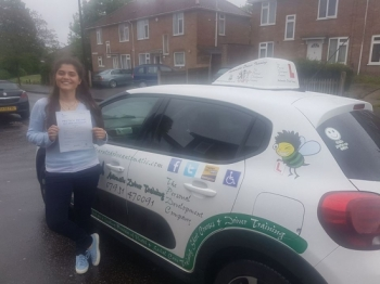 Congratulations to Rebecca G who passed her Automatic Driving Test this morning at #Norwich Jupiter Road in #TPDCBumble <br />