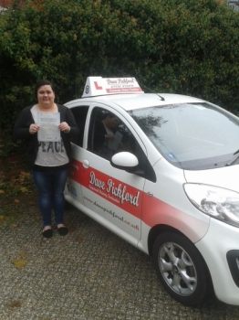 Early start in Cromer this morning but huge congratulations go to Rebecca Morris who passed her Automatic Driving Test at Norwich MPTC with a great drive<br />