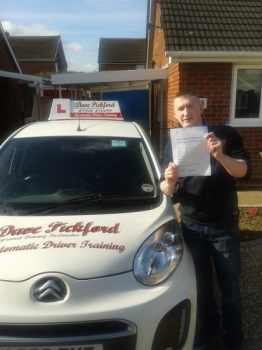 Huge congratulations to Reece who passed his Automatic Driving Test at Norwich MPTC this morning with wait for it Zero driving faults A nice clean sheet and compliments from examiner <br />