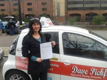 Congratulations to the lovely Samantha Nash who passed her Automatic Driving Test at Norwich MPTC this afternoon Well it was an emotional end but i no just how much this means to you its been an absolute pleasure well done and look forward to seeing you for that Pass Plus course Stay Safe<br />