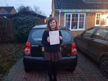 Congratulations to Sara-Beth On Passing her Automatic Driving Test this afternoon at #Norwich MPTC not in #TPDCBumble but we went incognito in her very own #Mariathekia<br />