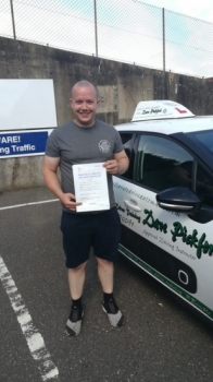 Congratulations to Stephen who Passed his Automatic Driving Test this morning at #Norwich in #Bumble following a 15 hour course<br />