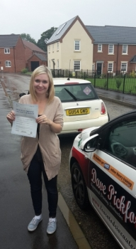 Congratulations to Taedi on passing her Automatic Driving Test this afternoon at ‪#‎Norwich‬ MPTC in ‪#‎Bumble‬ <br />