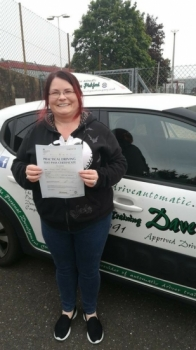 Congratulations to Tammy from #Hethersett who Passed her Automatic Driving Test this morning at #Norwich in #Bumble #TPDC<br />