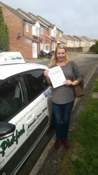 Congratulations to Tina Andrews who passed her Automatic Driving Test this morning at #Norwich in #Bumble <br />